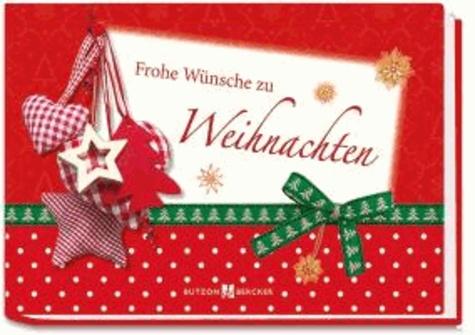 Frohe Wünsche zu Weihnachten.