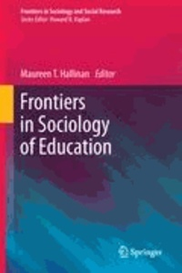 Maureen T. Hallinan - Frontiers in Sociology of Education.