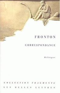 Fronton - Correspondance - Edition bilingue français-latin.