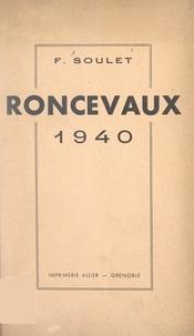 Fulcien Soulet - Roncevaux 1940.
