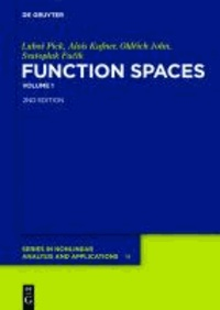 Function Spaces 1 - Banach Function Spaces.