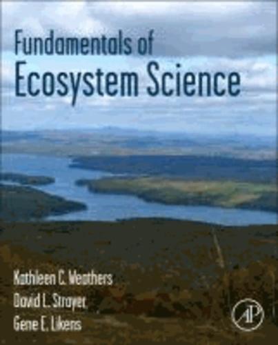 Fundamentals of Ecosystem Science.