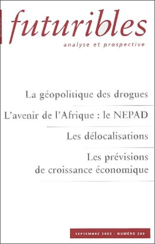 Alain Labrousse et Moisés Naim - Futuribles N° 289 Septembre 200 : .