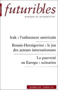 Hugues de Jouvenel et Michel Pinton - Futuribles N° 290 Octobre 2003 : .