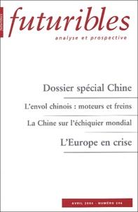 Hugues de Jouvenel et Michel Jan - Futuribles N° 296, Avril 2004 : Dossier spécial Chine.