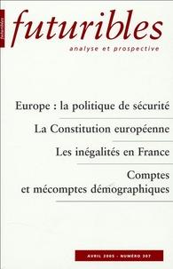 Hugues de Jouvenel et Robert Toulemon - Futuribles N° 307, Avril 2005 : .