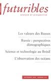 Hugues de Jouvenel et Anatoli Vichnevski - Futuribles N° 322, Septembre 20 : Les valeurs des Russes.