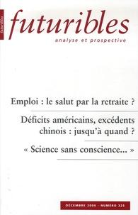 Hugues de Jouvenel et Alain Parant - Futuribles N° 325, Décembre 200 : .