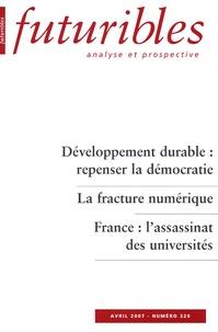 Hugues de Jouvenel et Anne De Beer - Futuribles N° 329, Avril 2007 : .