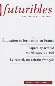 Hugues de Jouvenel et Claude Seibel - Futuribles N° 335, Novembre 200 : .