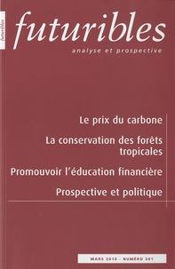 Hugues de Jouvenel et Christian de Perthuis - Futuribles N° 361, Mars 2010 : .