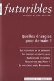 Hugues de Jouvenel - Futuribles N° 376, juillet-août : Quelles énergies pour demain ?.