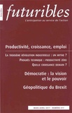 Hugues de Jouvenel - Futuribles N° 417, Mars-avril 2 : Productivité, croissance, emploi.