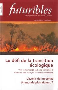Hugues de Jouvenel et François de Jouvenel - Futuribles N° 435, mars-avril 2 : Le défi de la transition écologique.