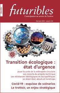 Futuribles international - Futuribles N° 436, mai-juin 202 : Transition écologique : état d'urgence.