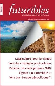 Hugues de Jouvenel - Futuribles N° 438, septembre-oc : L'agriculture pour le climat - Vers des stratégies postcarbonne.