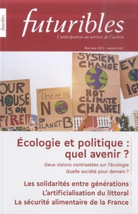 Hugues de Jouvenel - Futuribles N° 442, mai-juin 202 : Écologie et politique : quel avenir ?.