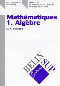 MATHEMATIQUES DEUG SCIENCES 1ERE ANNEE. Tome 1, Algèbre, Exercices et problèmes corrigés, Rappels de cours.pdf