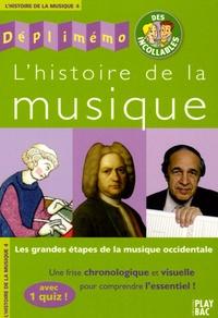 G Boulanger et  Collectif - L'histoire de la musique - Les grandes étapes de la musique occidentale.