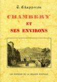 G Chapperon - Chambéry et ses environs.