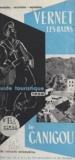 G. Combrade et J.-B Raynier - Vernet-les-Bains - Guide touristique 1958. Le Canigou.