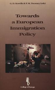 G-D Korella - TOWARDS A EUROPEAN IMMIGRATION POLICY.