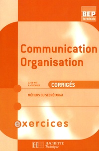 Communication organisation Tle BEP métiers secrétariat - Corrigés.pdf