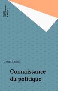 G Duprat - Connaissance du politique.