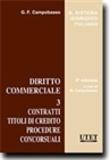 G. F. Campobasso - Diritto commerciale - Tome 3, Contratti titoli di credito procedure concorsuali.