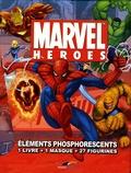G Fagerstrom - Marvel heroes : éléments phosphorescents - 1 Livre + 1 masque + 27 figurines.