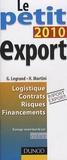 G Legrand et Hubert Martini - Le petit export.