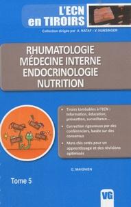 G. Maignien - Rhumatologie, médecine interne, endocrinologie, nutrition.