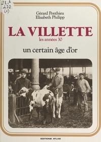 G Ponthieu - La Villette - Les années 30.