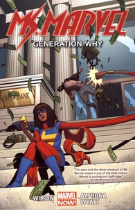 G. Willow Wilson et Jacob Wyatt - Ms. Marvel Tome 2 : Generation Why.