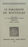 Gabriel-André Pérouse - Le parangon de nouvelles.