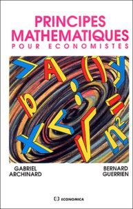 Gabriel Archinard et Bernard Guerrien - .