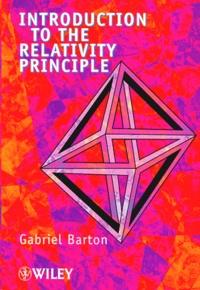 INTRODUCTION TO THE RELATIVITY PRINCIPLE - Gabriel Barton | Showmesound.org