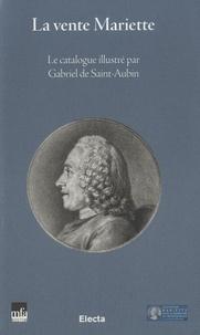 Alixetmika.fr La vente Mariette - Le catalogue illustré par Gabriel de Saint-Aubin Image