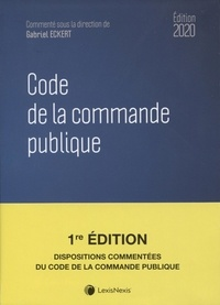 Gabriel Eckert - Code de la commande publique.