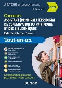 Gabriel Feraud et Valérie Schietecatte - Concours Assistant (principal) territorial de conservation du patrimoine et des bibliothèques - Tout en un - Concours 2021.