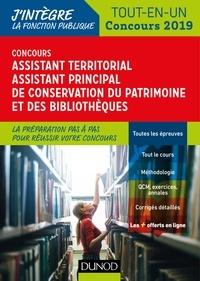Gabriel Feraud et Valérie Schietecatte - Concours Assistant territorial Assistant principal de conservation du patrimoine et des bibliothèques - Tout en un.
