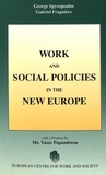 Gabriel Fragnière et George Spyropoulos - Work and Social Policies in the New Europe - Conference organised by the European Centre for Work and Society.