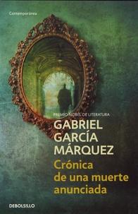 Pda ebook télécharger Cronica de una muerte anunciada (Litterature Francaise) 9788497592437 par Gabriel García Márquez