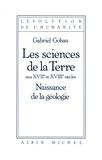 Gabriel Gohau - Les Sciences de la Terre.