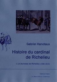 Gabriel Hanotaux - Histoire du Cardinal de Richelieu - Tome 1 : la jeunesse de Richelieu (1585-1614).