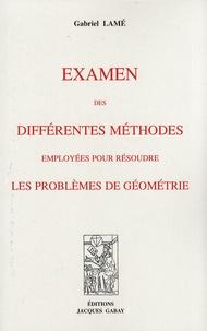 Examen des différentes méthodes employées pour résoudre les problèmes de géométrie.pdf