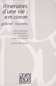 Checkpointfrance.fr Itinéraires d'une vie : e.m. Cioran Image