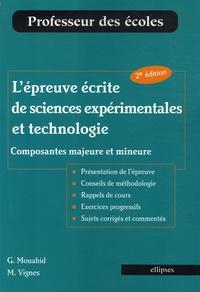 Lépreuve écrite de sciences expérimentales et technologie - Composantes majeure et mineure.pdf