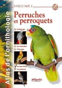 Gabriel Prin - Perruches et perroquets.