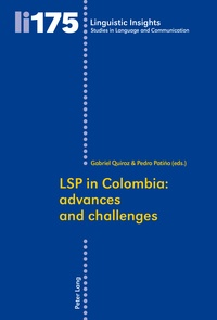 Gabriel Quiroz herrera et Pedro Patino garcia - LSP in Colombia - Advances and challenges.